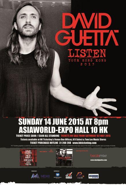 David Guetta Listen World Tour